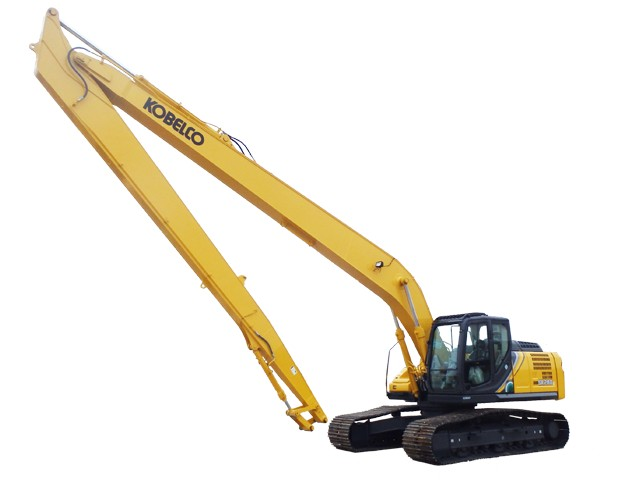 2019 KOBELCO EXCAVATOR, SK260LC-10 LONG REACH - Company Wrench